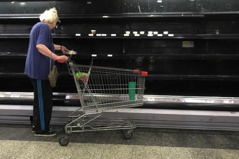Venezuela's empty shelves