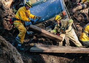 Search for Southern California mudslide victims