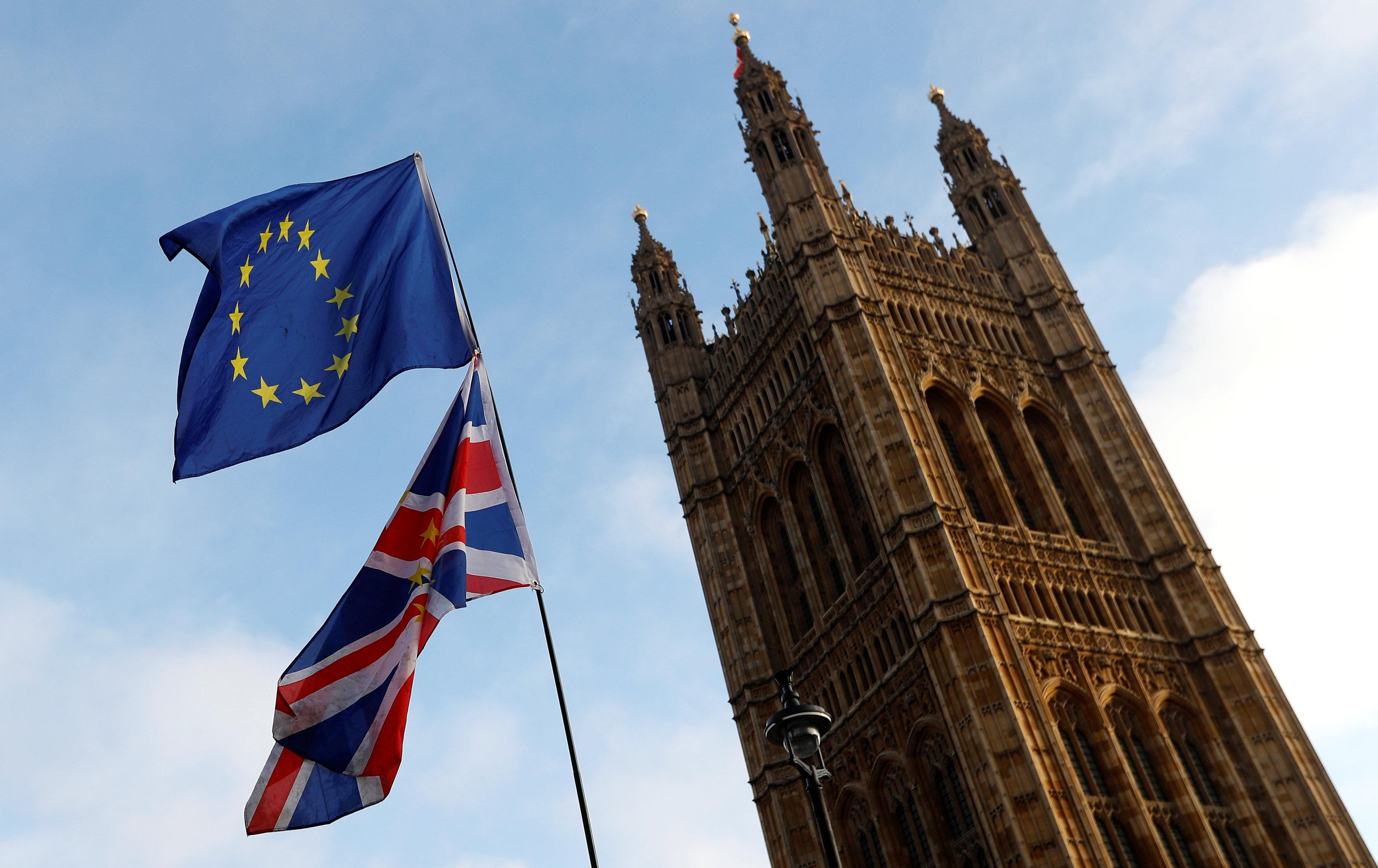 Britain's lower house of parliament approves bill to sever EU ties