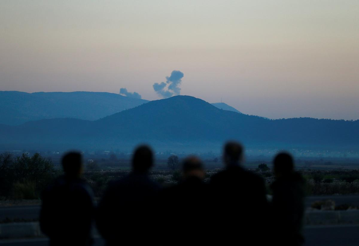 Syrian Kurdish YPG says 'no choice but to resist' after Turkish strike