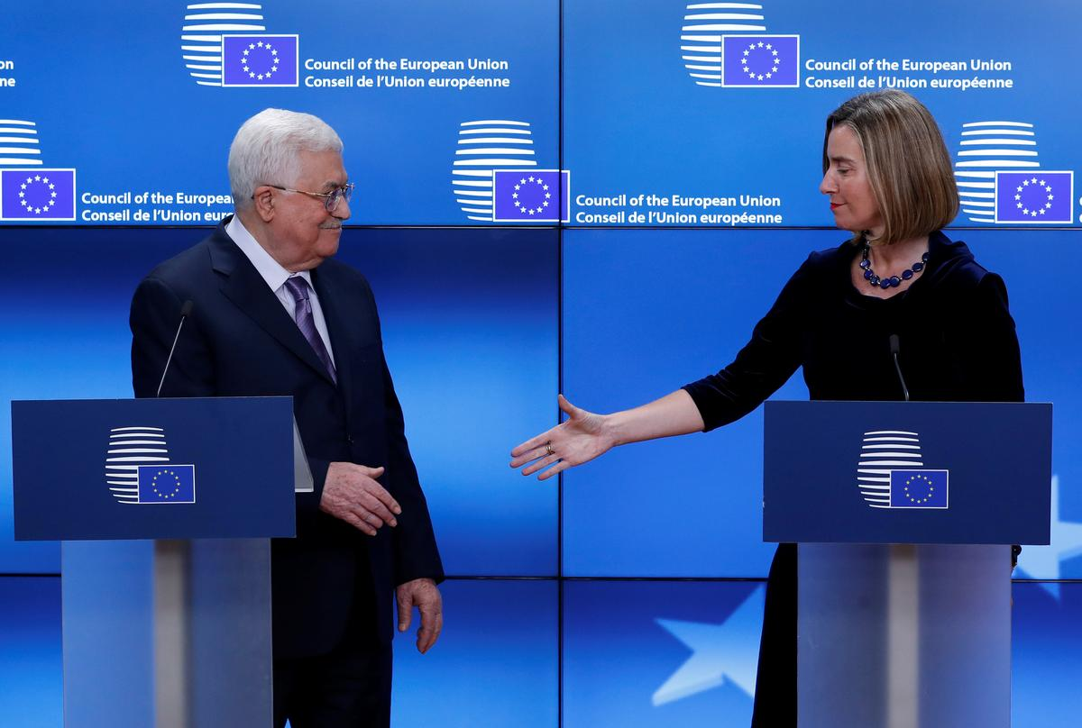 Abbas wins EU backing for Palestinian capital in East Jerusalem