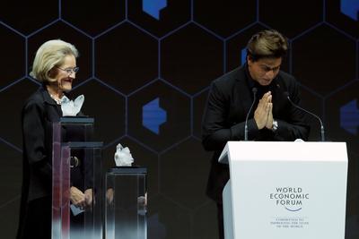 Shah Rukh Khan in Davos