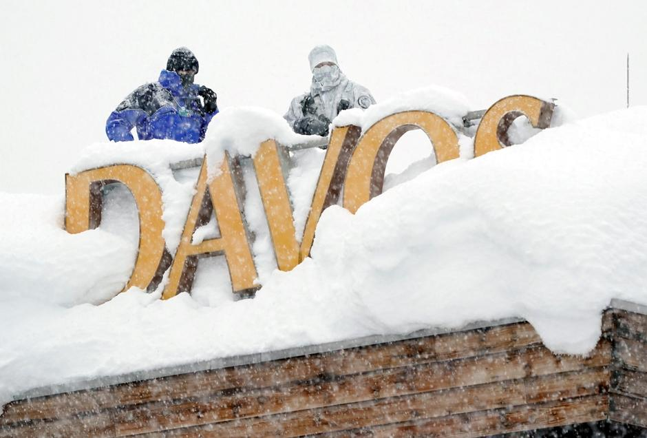 Image result for davos switzerland snow