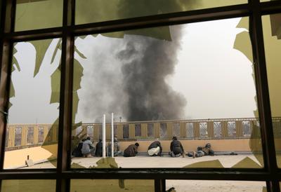 Gunmen storm Afghan aid office