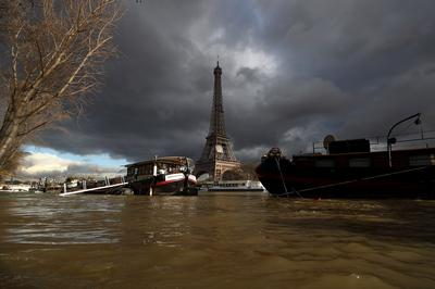 Paris under water