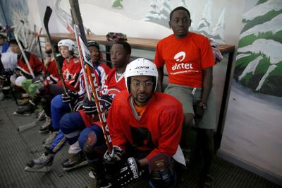 Dreams on ice in Kenya