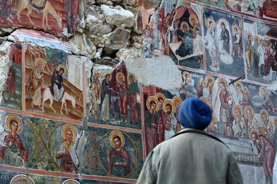Albania's ruined churches seek salvation