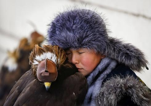 Kazakhstan's top eagle hunter