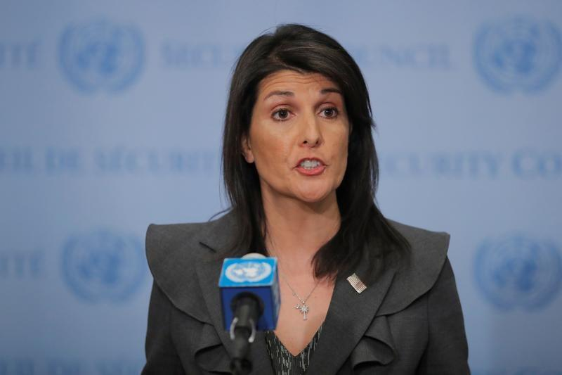 On U.N. deaths, Haley asks Congo's Kabila: what happened to my list?