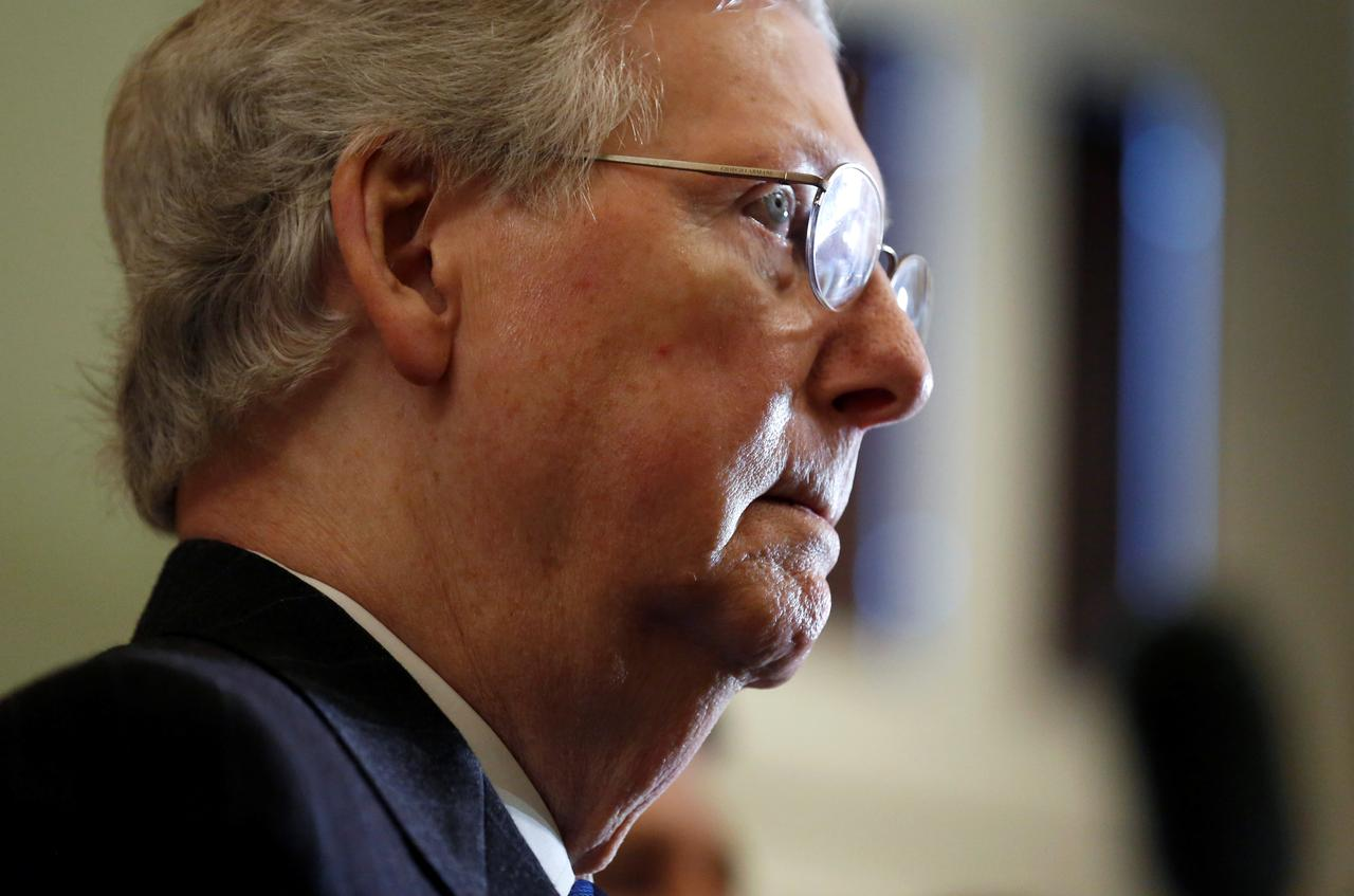 Image result for There Should Be Immigration Solution This Week: Senate Leader McConnell