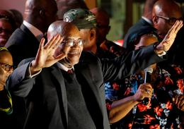 South African President Jacob Zuma resigns
