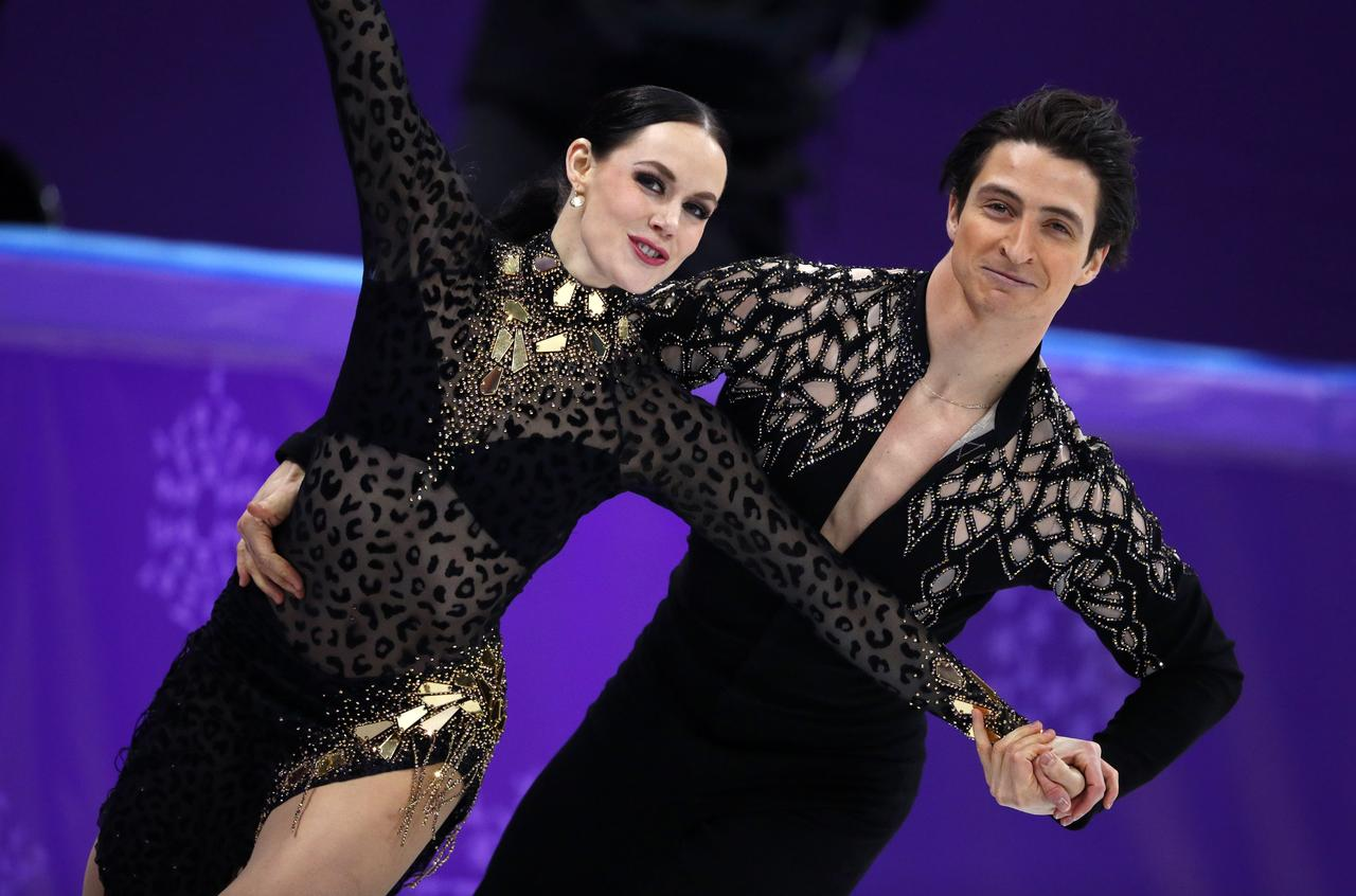 Image result for ice dance short program pyeongchang 2018