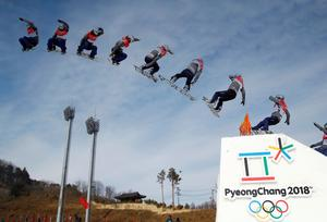 Pyeongchang in sequence