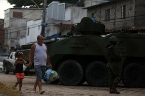 Brazil's military takes over Rio security