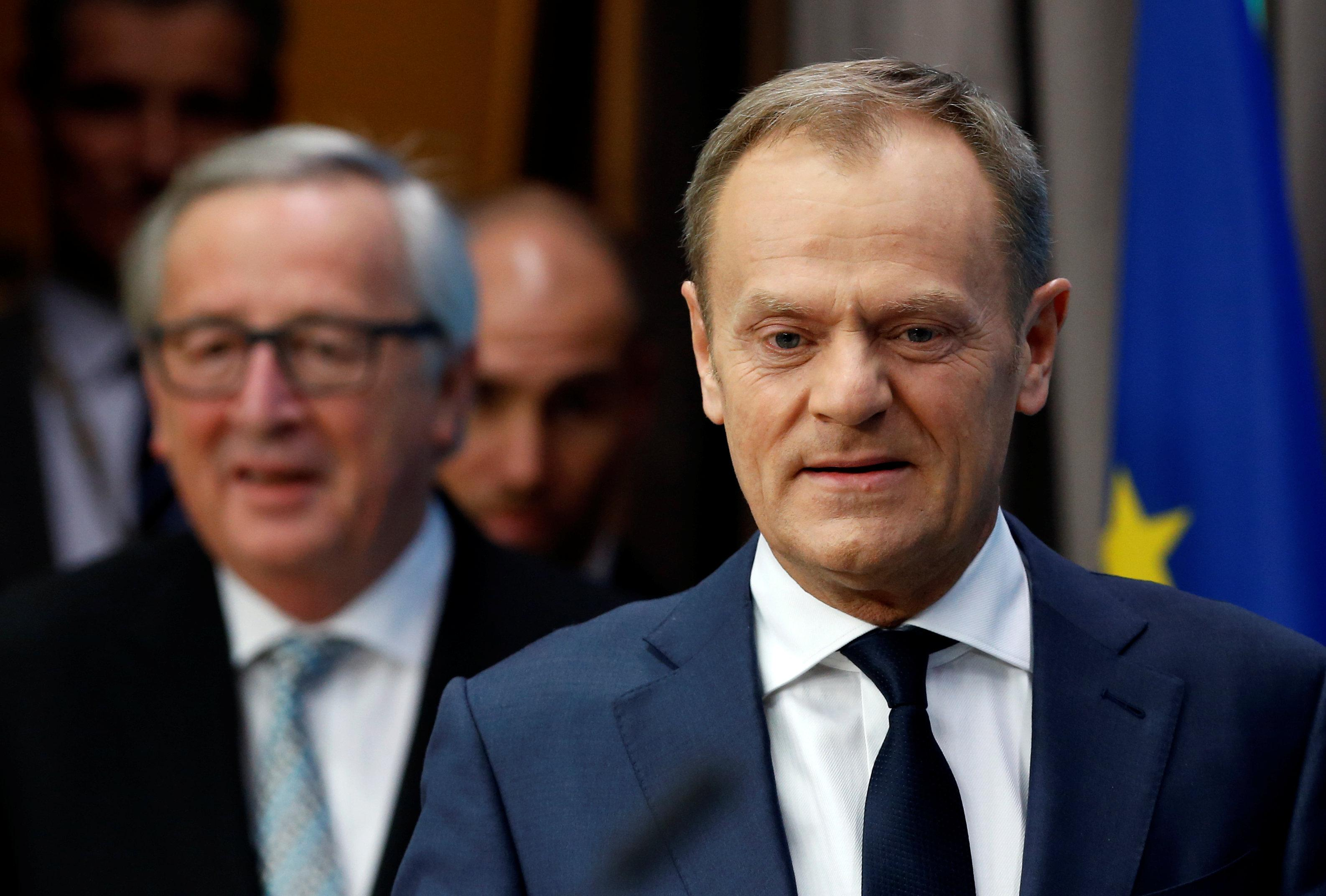 Tusk expects joint EU stance on post-Brexit ties with Britain in March