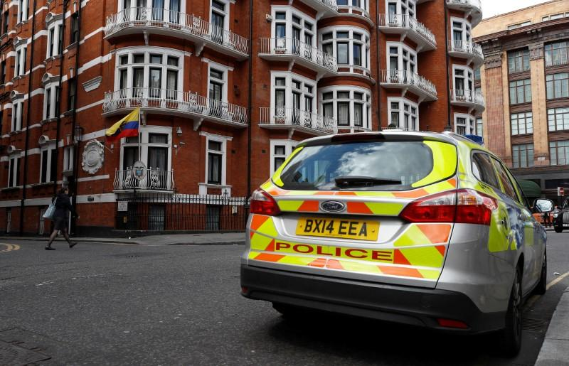 Ecuador says mediation with Britain over Assange has failed