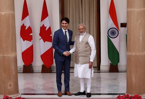 The Trudeaus visit India