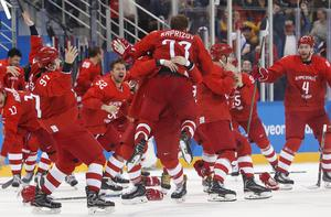 OAR wins Olympic hockey gold