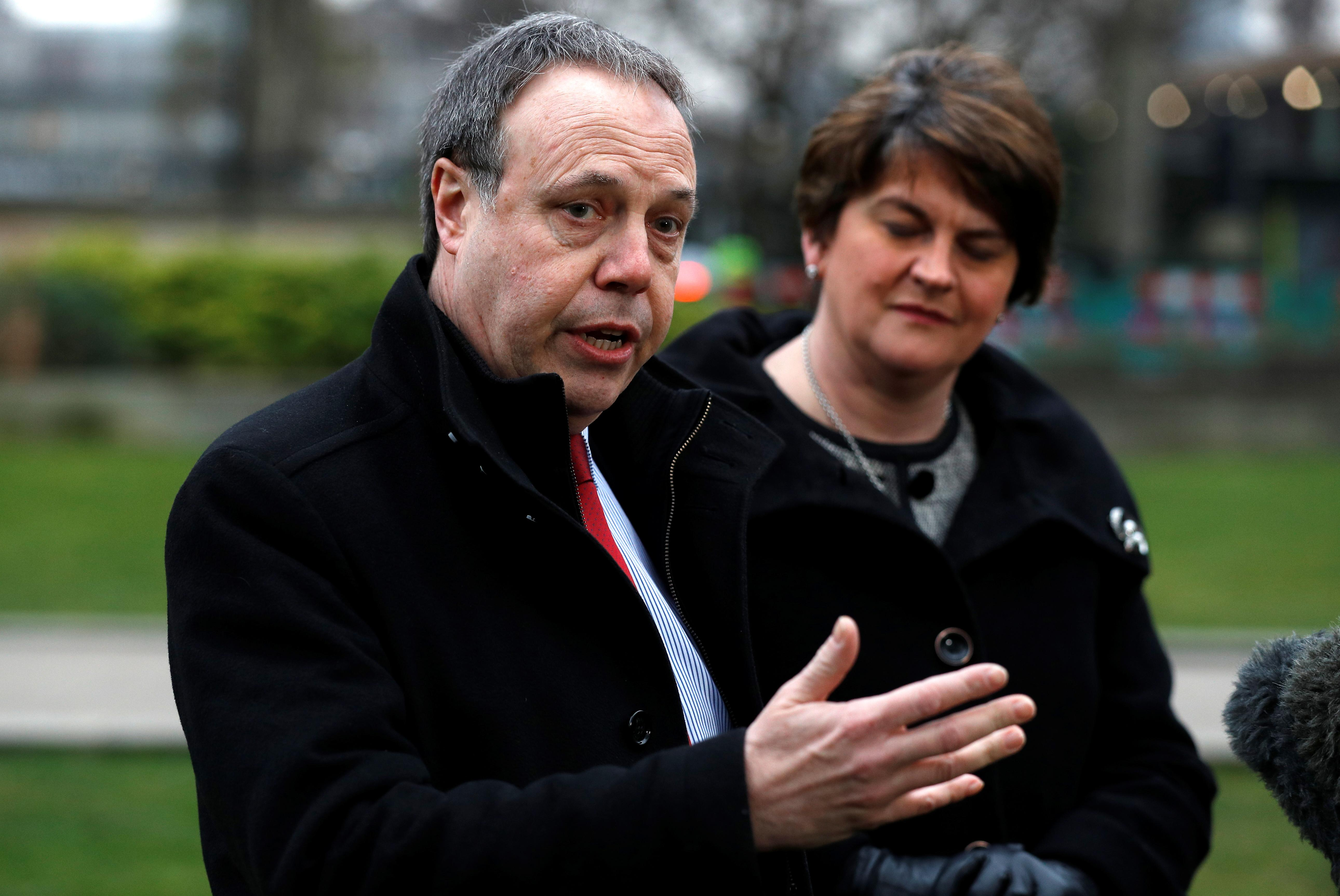 Northern Ireland's DUP says proposed Irish border arrangements 'will not go anywhere'