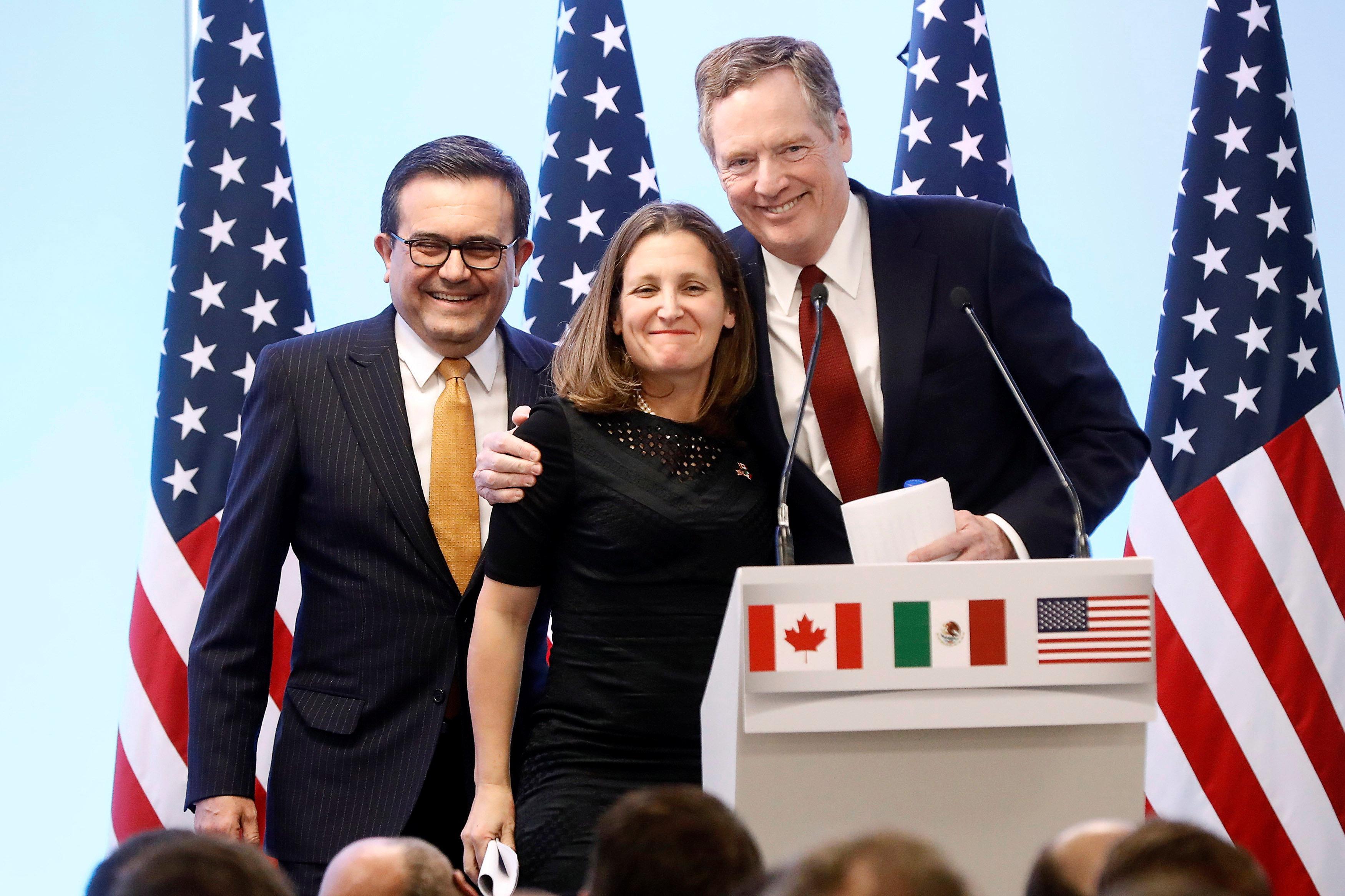 Us Pushes Nafta Talks Pace Warns Of Political Headwinds Reuters