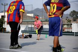 Peru's 92-year-old soccer coach