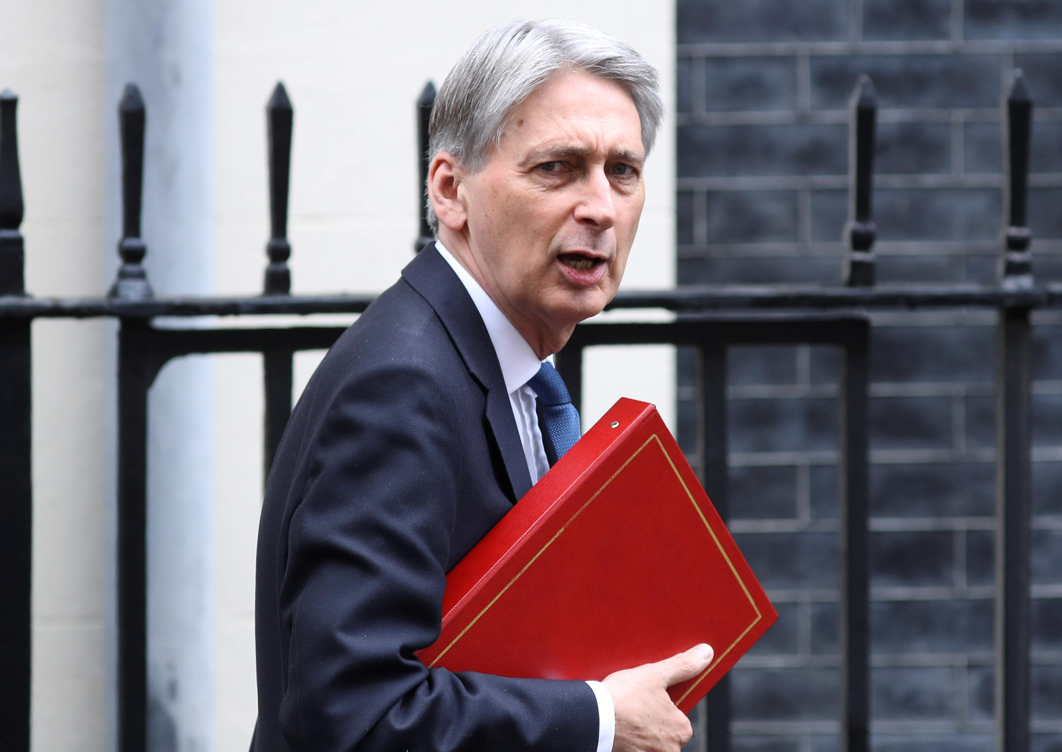 UK's Hammond - trade deal with EU will only happen if it is fair