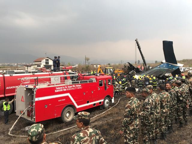 Bangladeshi plane crashes in Nepal, killing at least 49