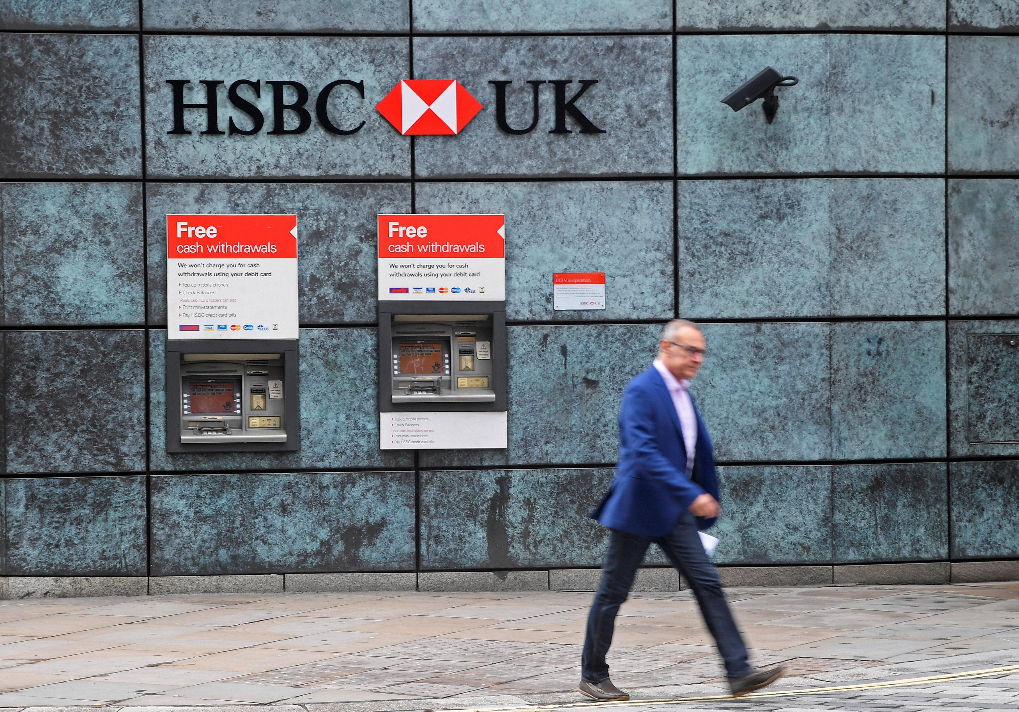 Personal trainer, charity caught up in HSBC account freeze - Reuters