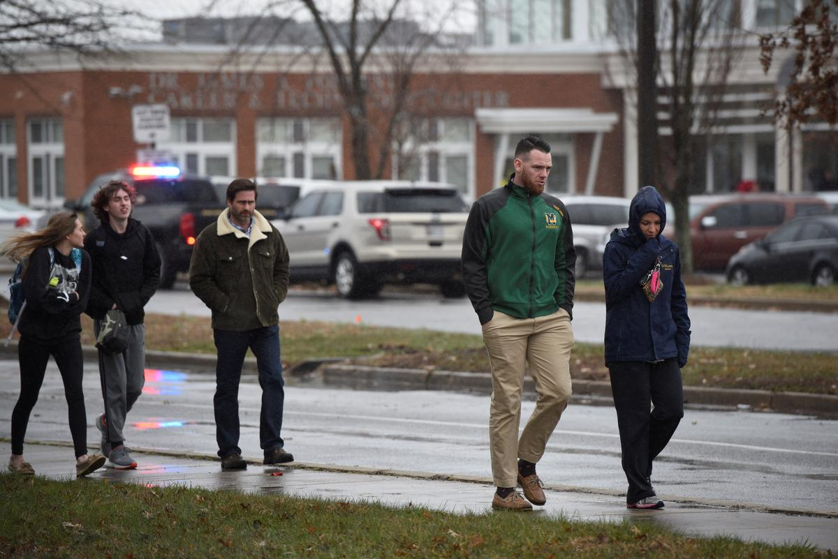 Gunfire rang out at Great Mills High School in Southern Maryland as classes began Tuesday morning the latest school shooting to rattle parents and set off