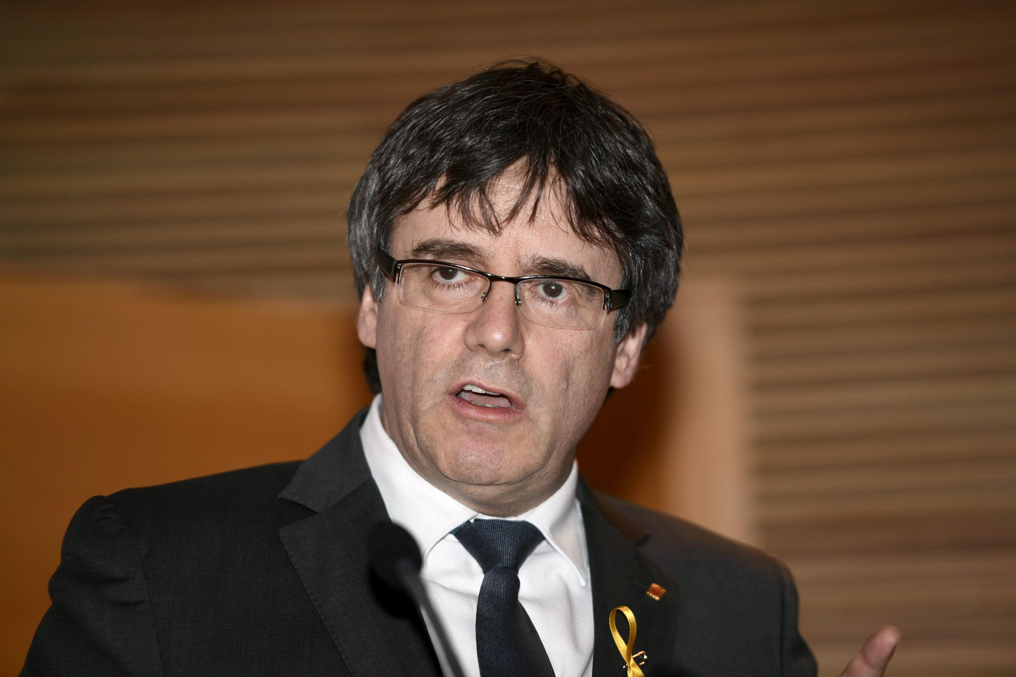 Alemania dice caso Puigdemont en manos de tribunales regionales