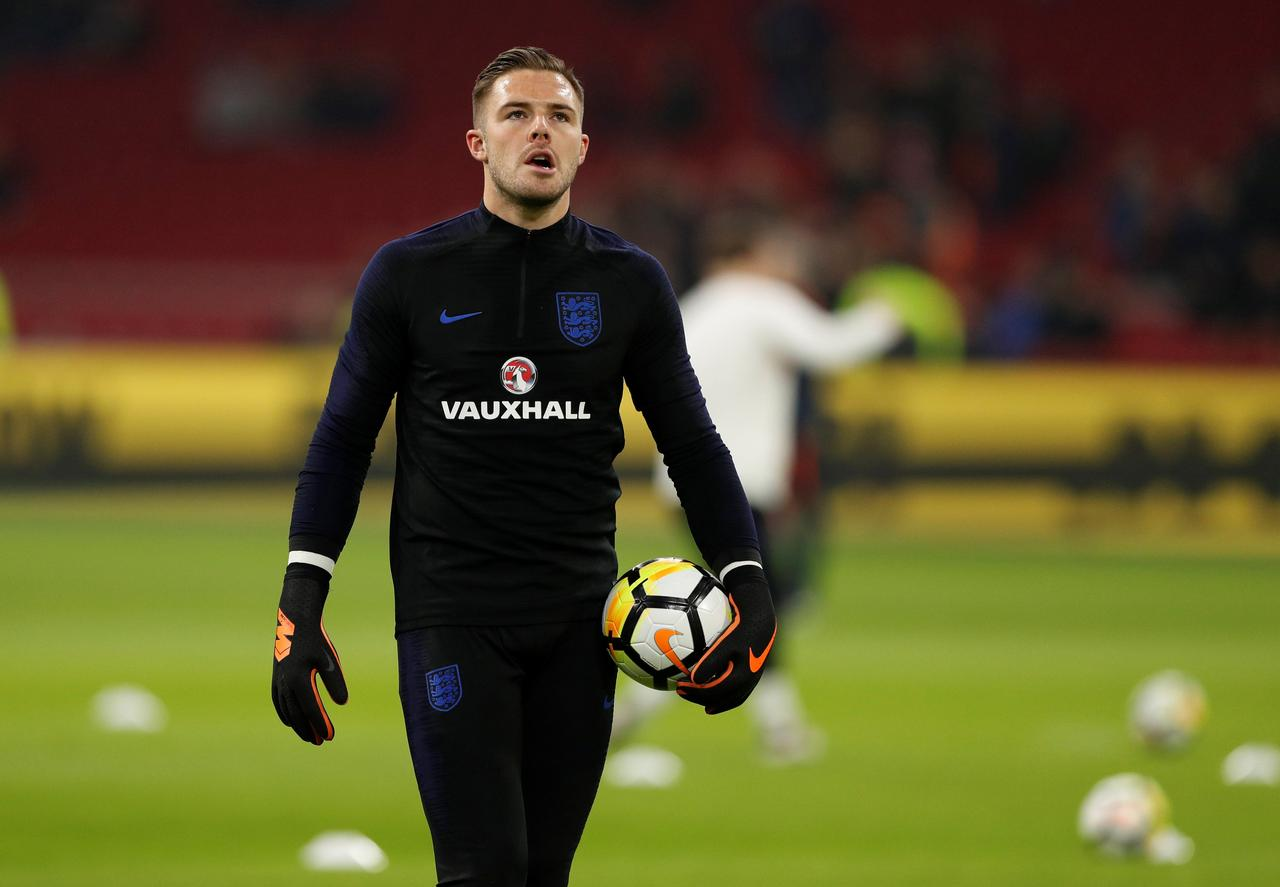 bd447aa9ea8 Butland relishes England s World Cup keeper battle - Reuters