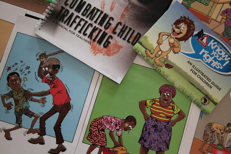 Anti-trafficking charity launches materials aimed at Kenyan