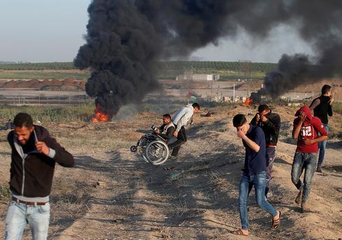 Protests turn deadly on Gaza-Israel border