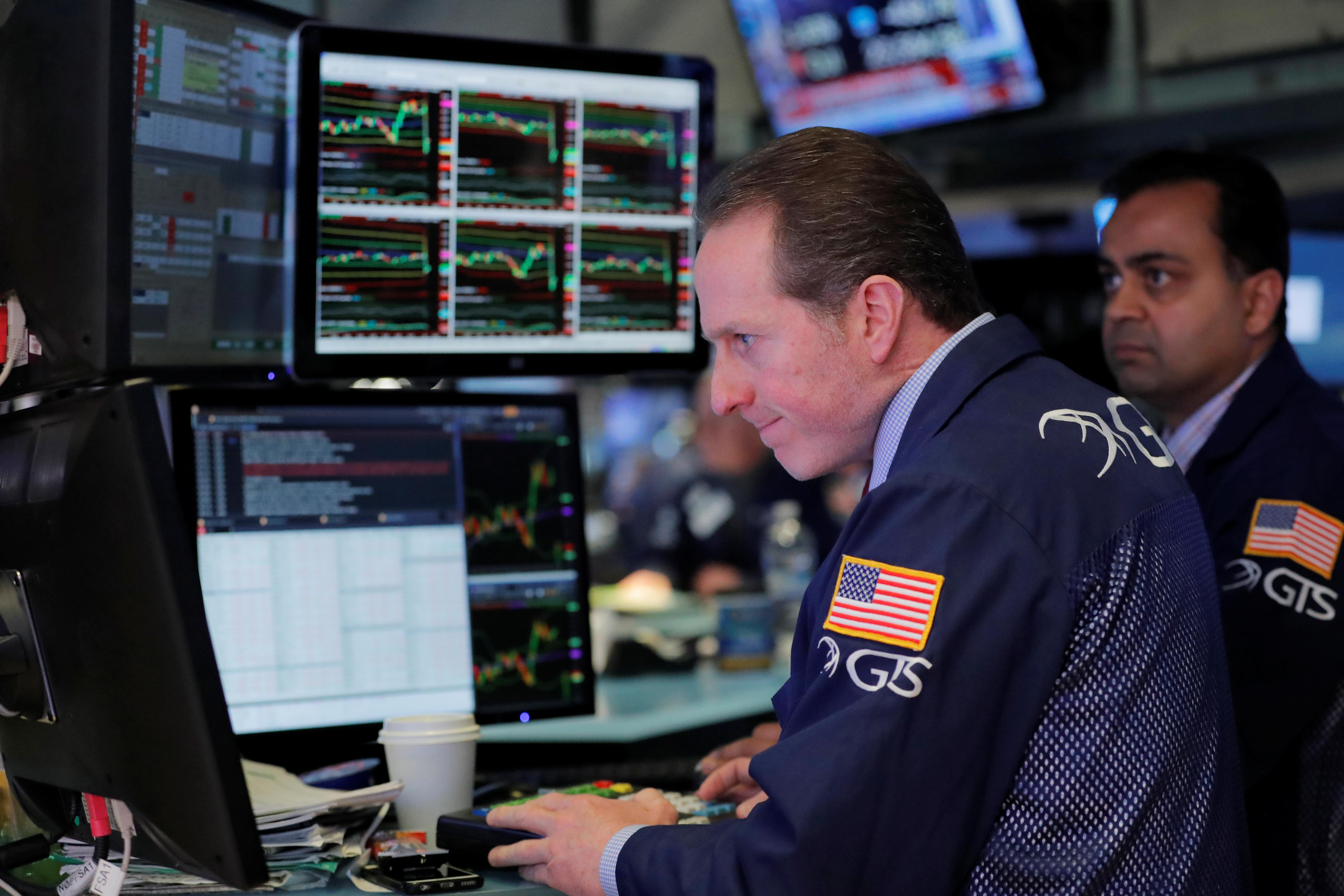 U.S. options hedging muted even as stocks approach February lows