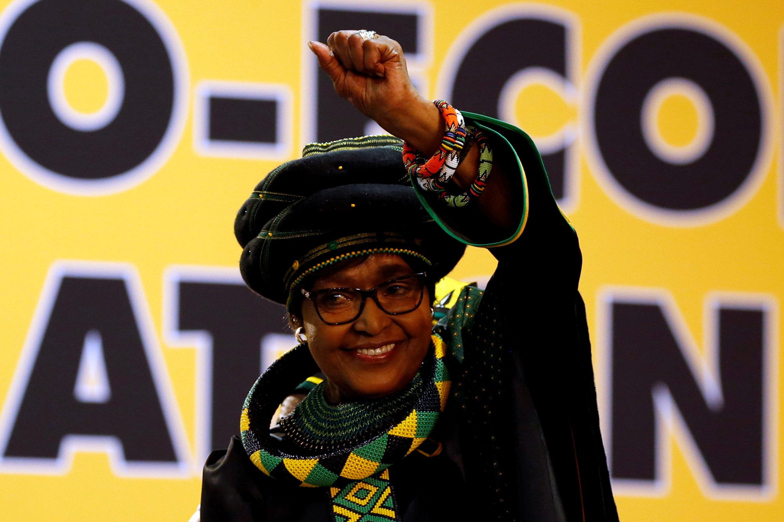 Winnie Mandela, tarnished 'Mother' of post-apartheid South Africa