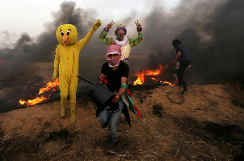 Deadly protests at Gaza-Israel border