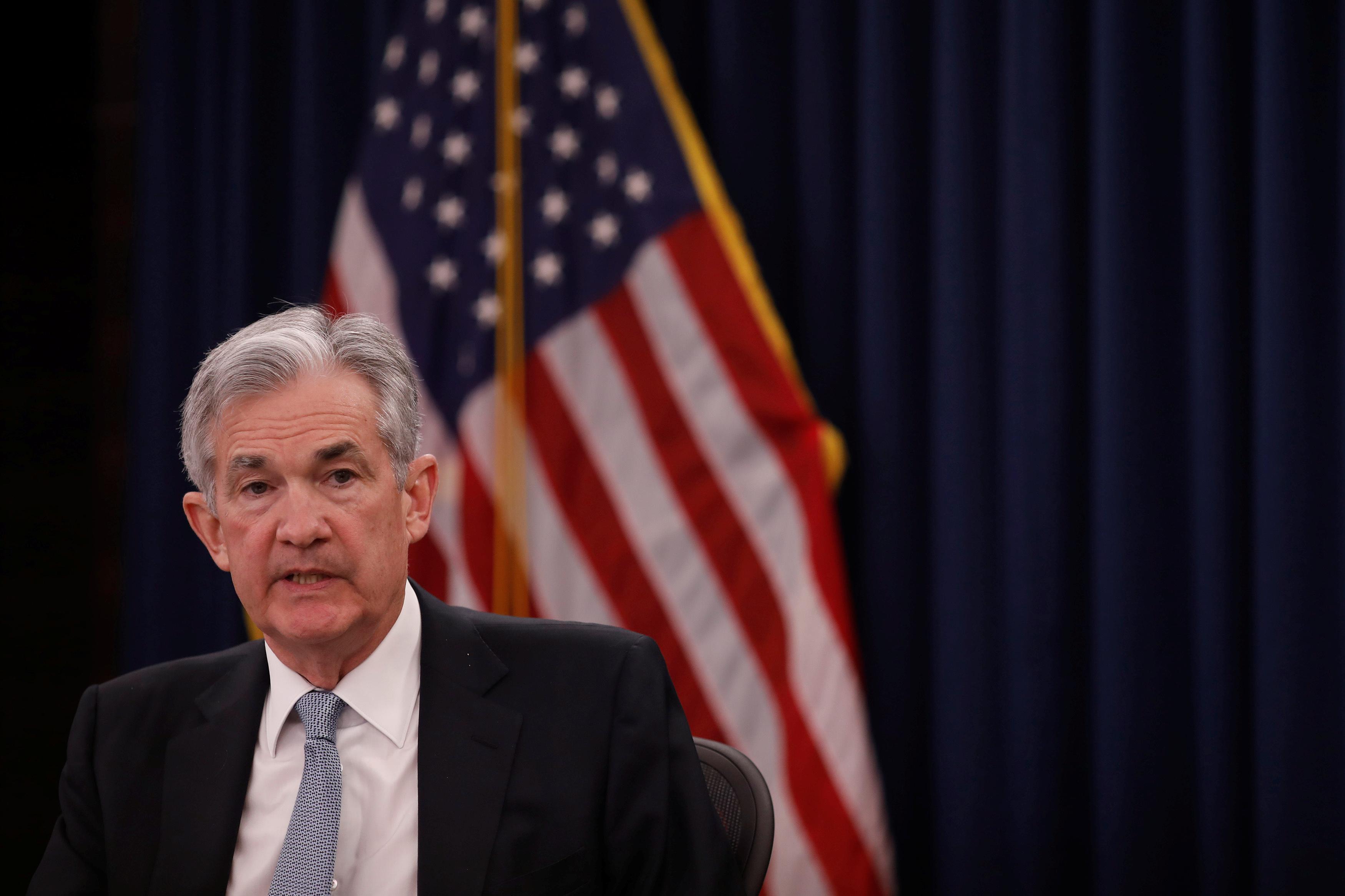 即时视图:美联储的鲍威尔看到更多的逐步加息