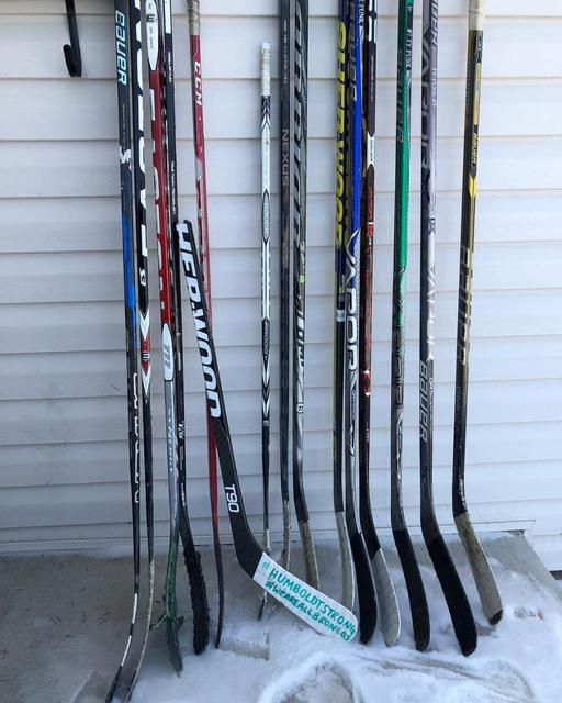 Hockey Sticks Left On Porches To Honor Canada Crash Victims