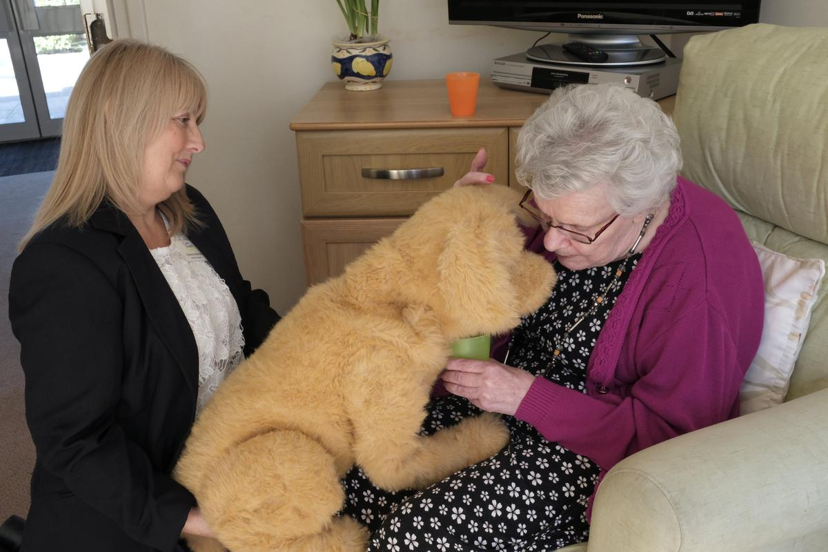Robot dog lends a helping paw to dementia sufferers - Reuters