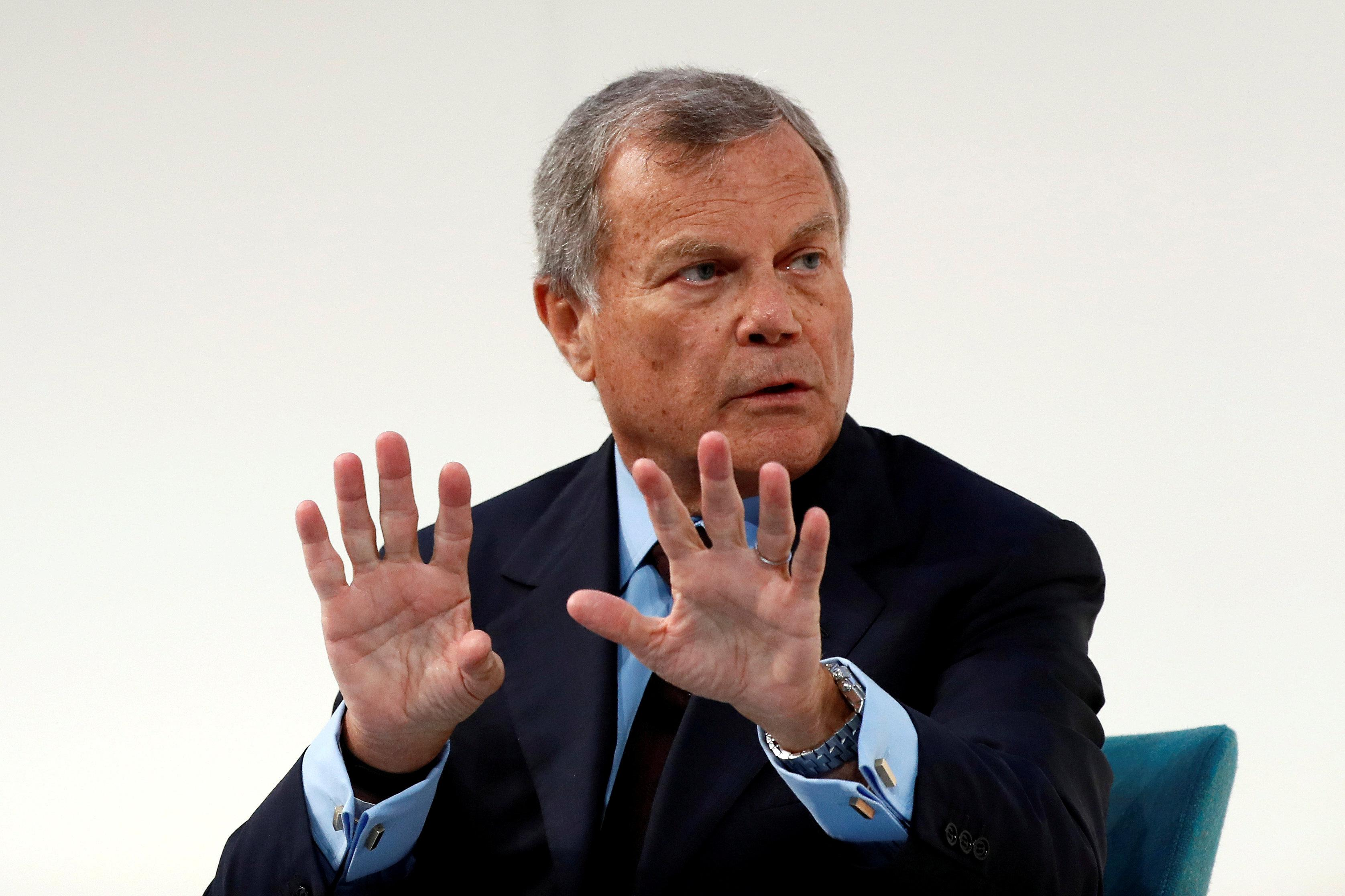 Martin Sorrell, chairman and chief executive officer of WPP, the world's largest advertising company, speaks at the Confederation of British Industry's (CBI) annual conference in London, Britain November 21, 2016. Stefan Wermuth