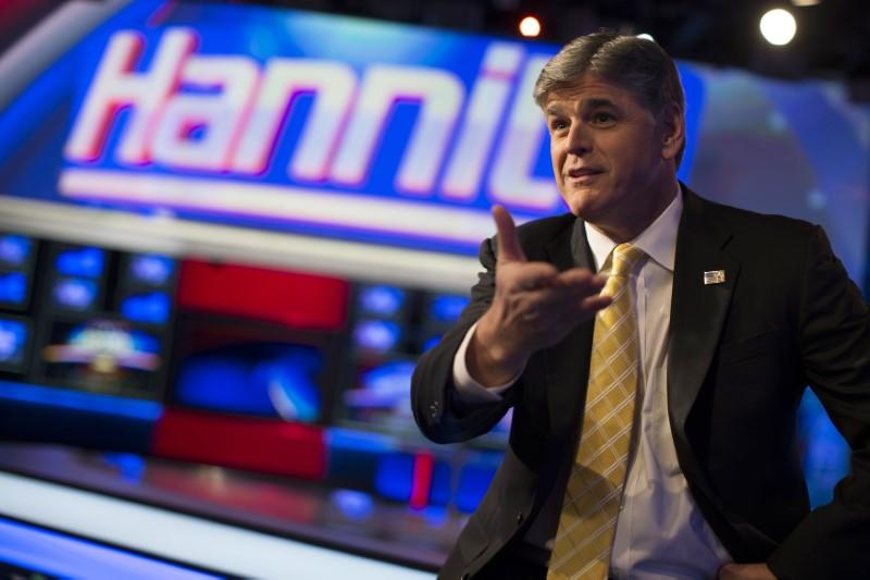photo image Fox's Hannity revealed as mystery client of Trump's personal lawyer