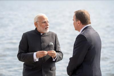 PM Modi visits Sweden