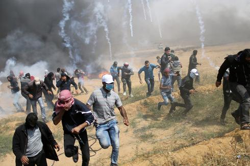 Renewed protests on Gaza-Israel border