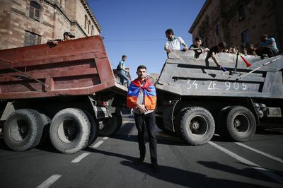 Political standoff in Armenia