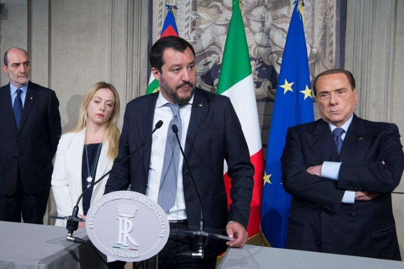 Italy's Salvini says talks on-going, no response yet to govt deal