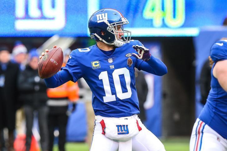 Giants, Eli Manning settle memorabilia lawsuit - Reuters