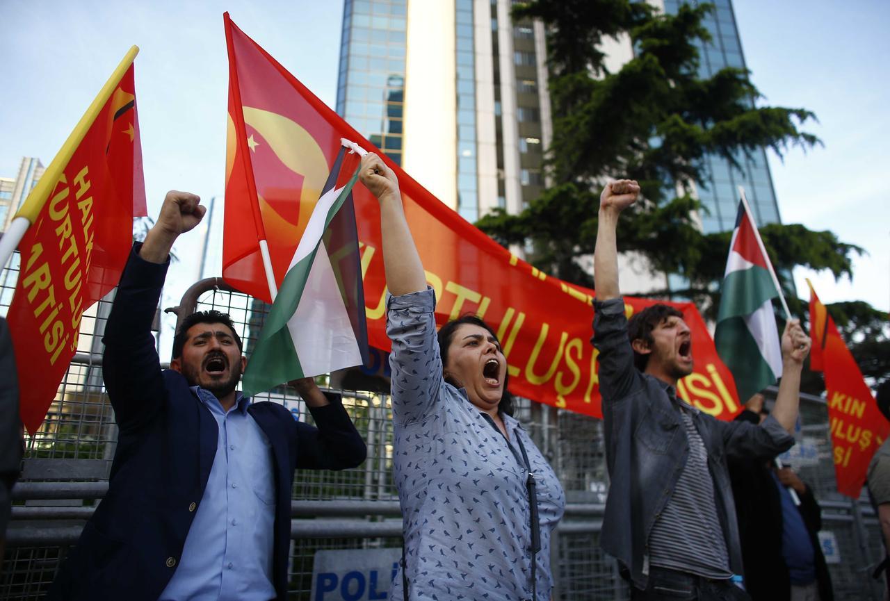 Turkey and Israel expel envoys over Gaza violence - Reuters