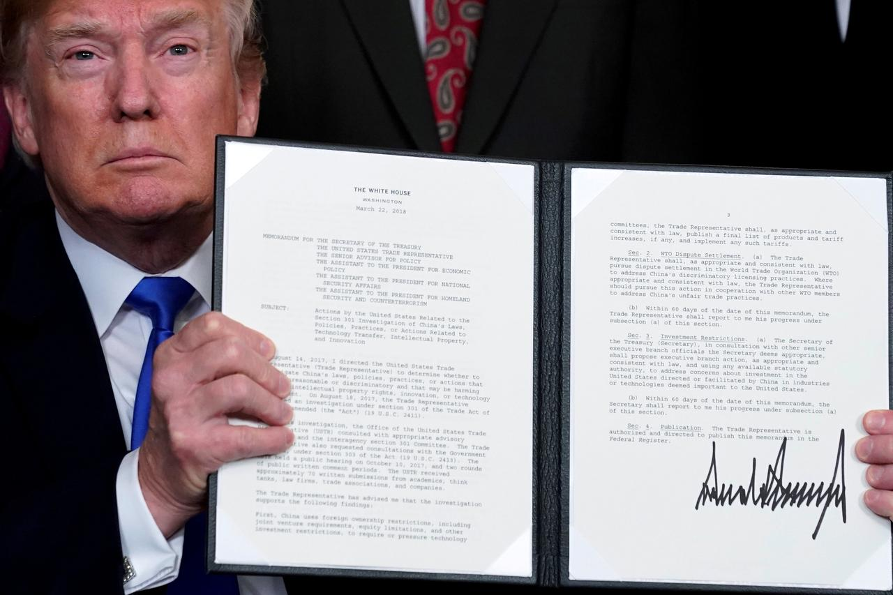 Trumps Bonfire Of The Treaties Sweeps Towards The Wto Reuters