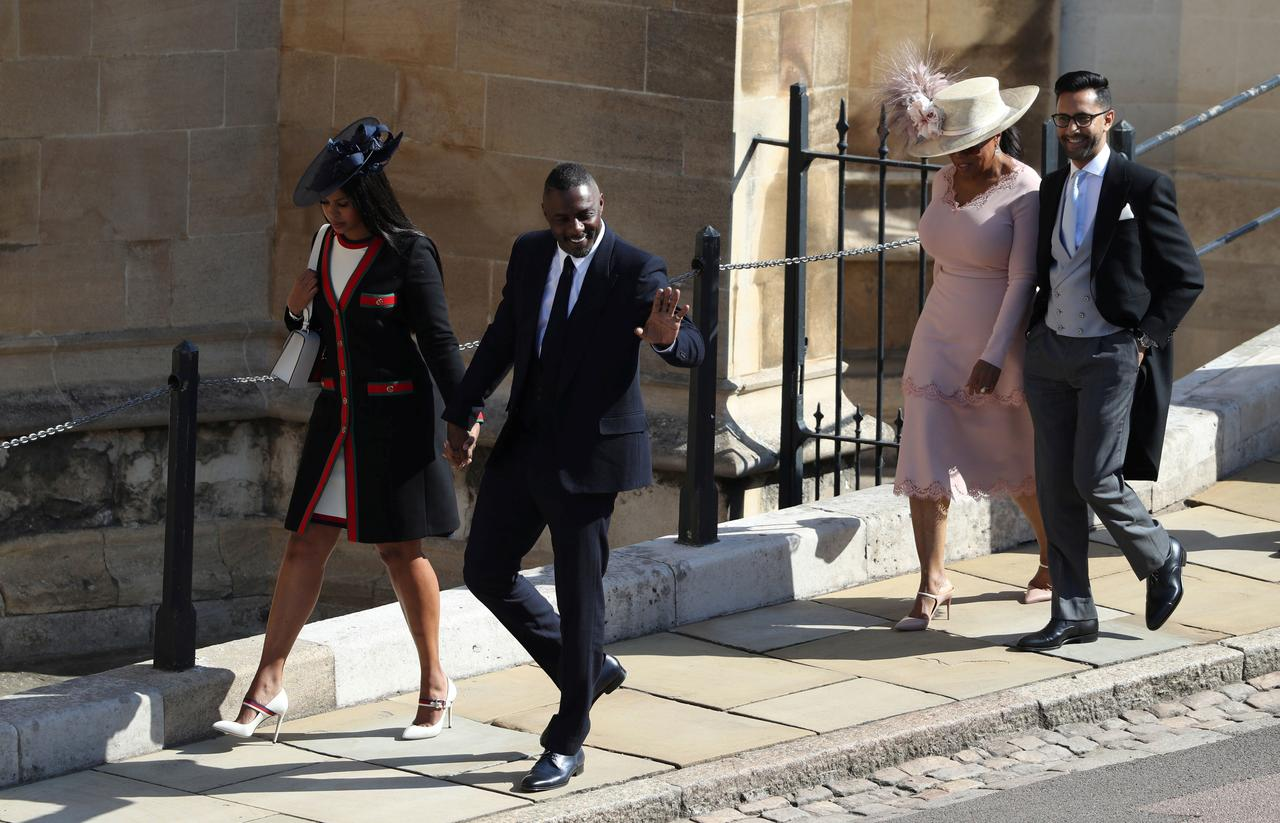 Oprah At Prince Harry Wedding.Oprah Winfrey Arrives At Prince Harry And Meghan Markle S Wedding
