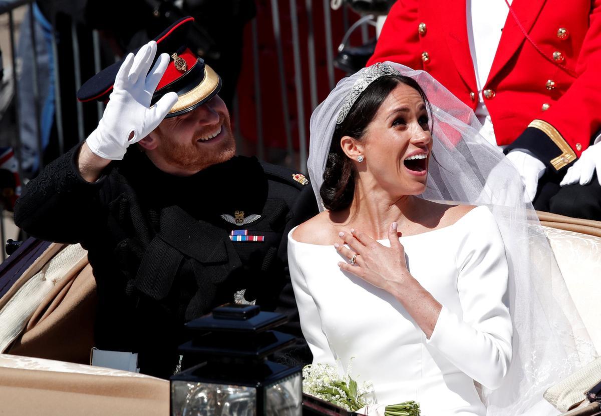 英ロイヤルウエディング、伝統と現代の融合で新しい王室示す
